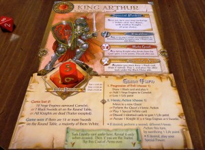 Shadows Over Camelot Character Cards