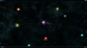 Galaxy on Fire 2 Game Map