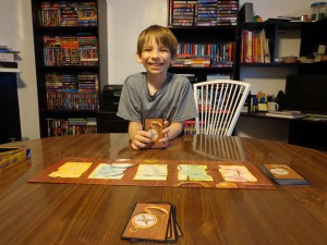 Lost Cities Card Game Setup