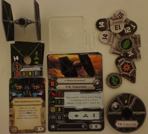 Star Wars X-Wing Miniatures Game TIE Fighter Expansion