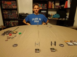 Star Wars X-Wing Miniatures Game Setup