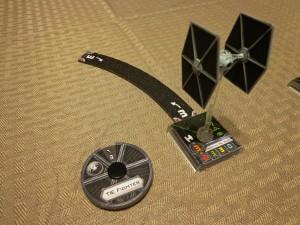 Star Wars X-Wing Miniatures Movement