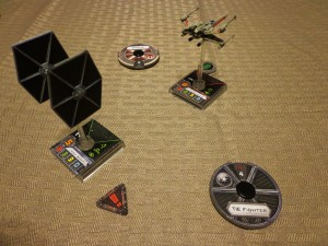 Star Wars X-Wing Miniatures Manuever