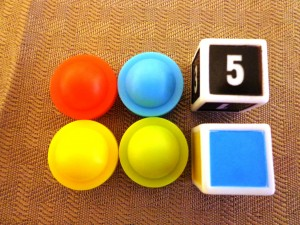 Space Checkers Components