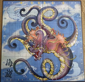Tsuro of the Seas Board