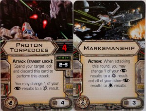 Star Wars X-Wing Miniatures Game Upgrade Cards