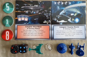 Star Trek Catan Components