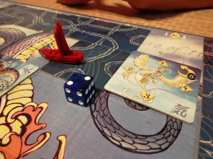 Tsuro of the Seas Daikaiju Tile