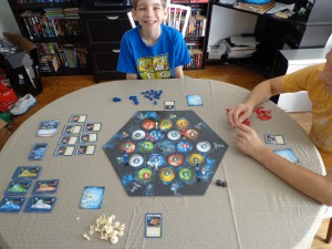 Star Trek Catan Setup