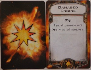 Star Wars X-Wing Miniatures Game Damage Cards
