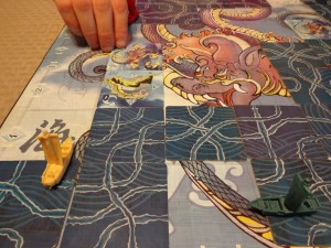 Tsuro of the Seas Daikaiju Tiles