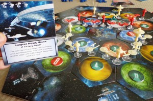 Star Trek Catan Longest Supply Route