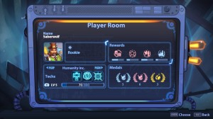 Planets Under Attack Player Room