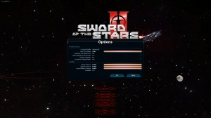 Sword of the Stars II Options