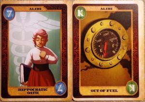 Ruse Alibi Cards
