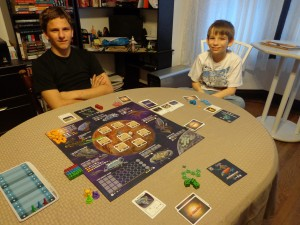 Alien Frontiers Factions Game Setup