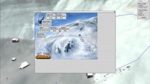 Ski Park Tycoon Campaign Menu