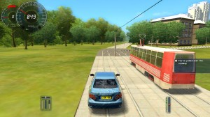 City Car Driving Tram