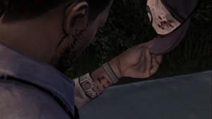 The Walking Dead Episode Four Lee Bite