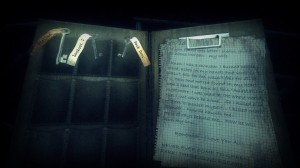 Haunt: The Real Slender Game Diary View