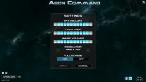 Aeon Command Options