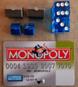 Monopoly Electronic Banking Edition Bank Card