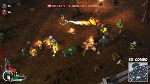 Bunch of Heroes Flamethrower