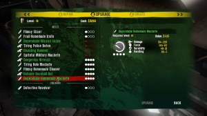 Dead Island Weapons Upgrade