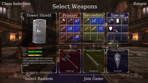 Chivalry: Medieval Warfare Weapon Select