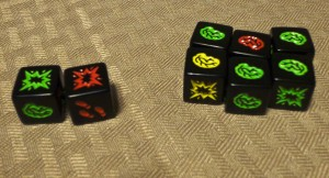 Zombie Dice Brains