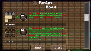Block Story Recipe Book