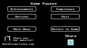 Organ Trail Directors Cut Menu