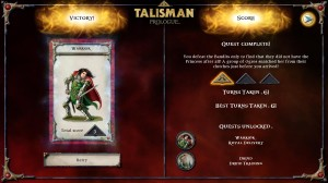 Talisman Prologue Victory