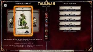 Talisman Prologue Characters