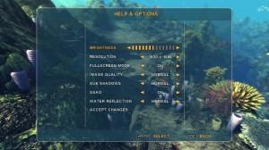 Depth Hunter Options