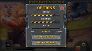 Fieldrunners 2 Options