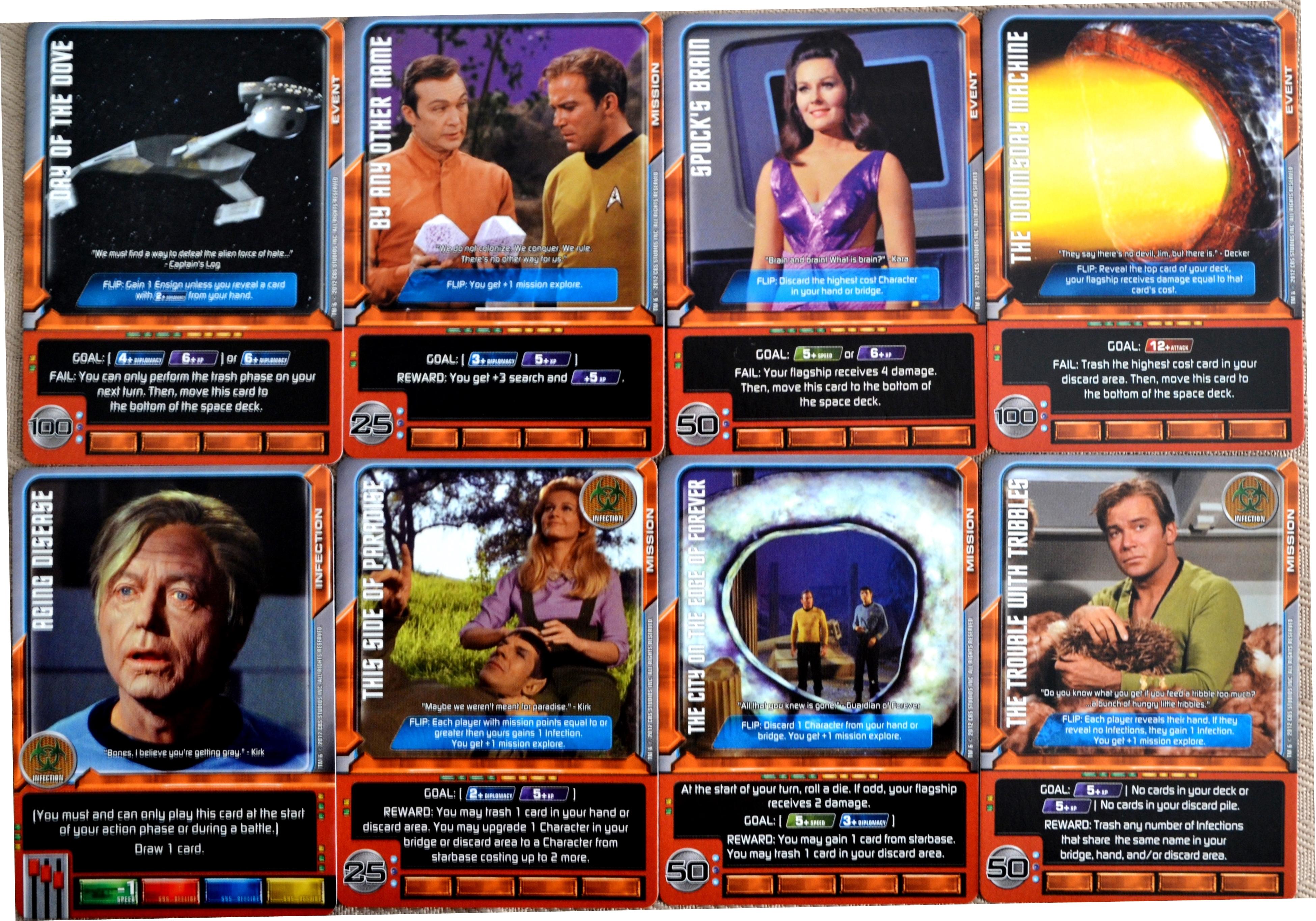 Star Trek Deck Building Game