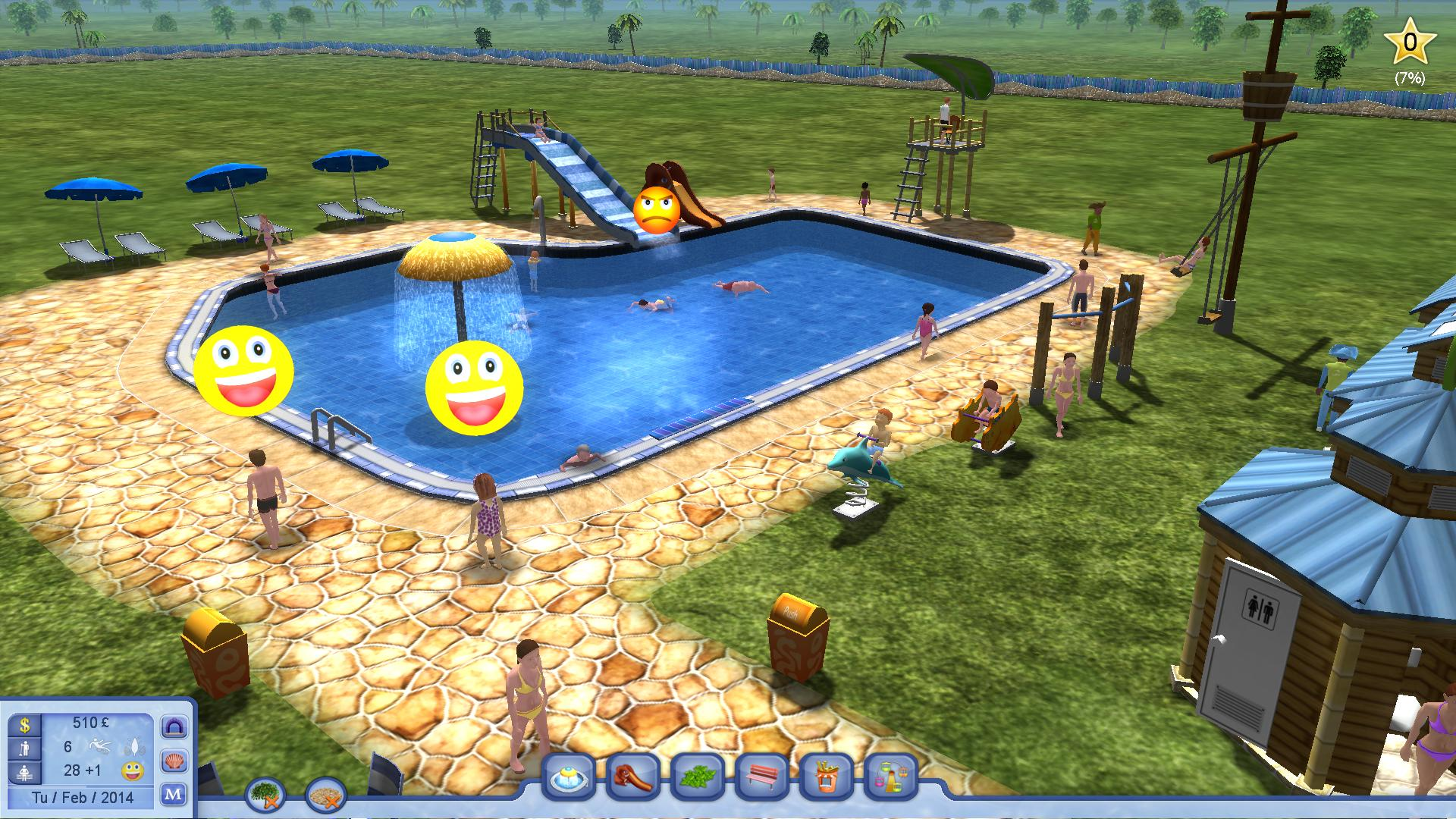Water Park Tycoon | Dad's Gaming Addiction