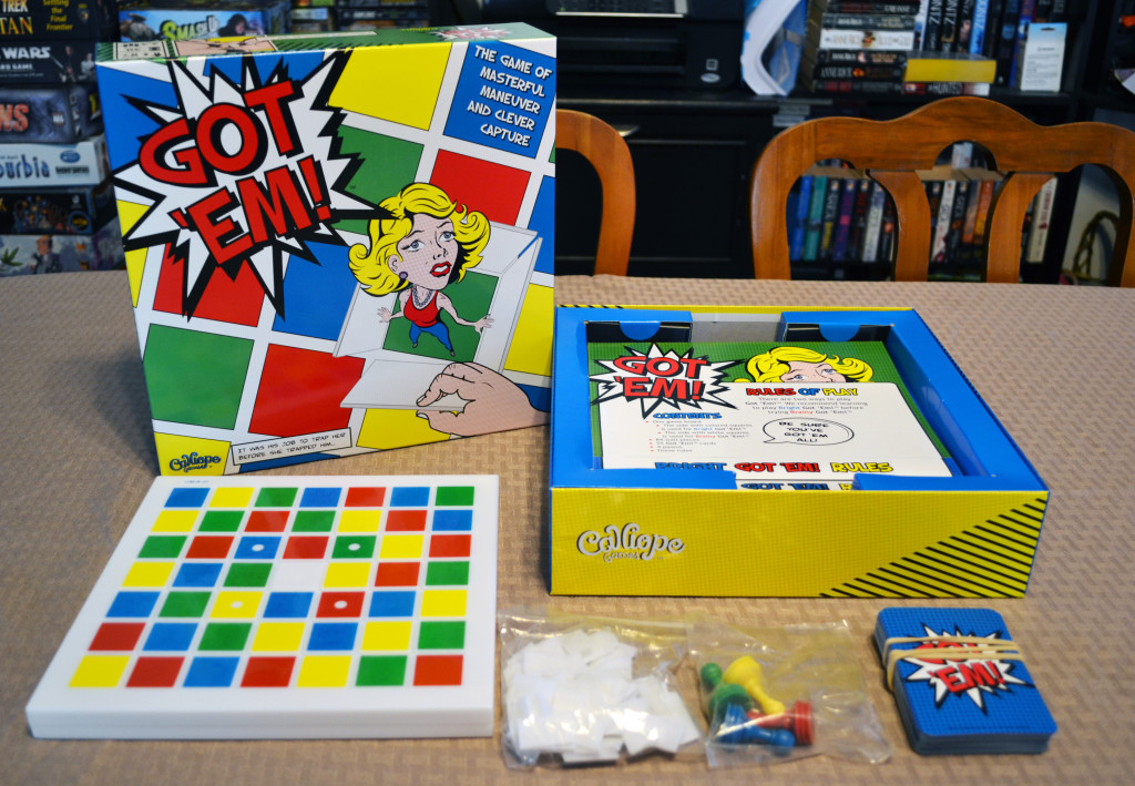 Got 'Em!: 2-4 Players, Ages 8+, Average Play Time = 30 Minutes