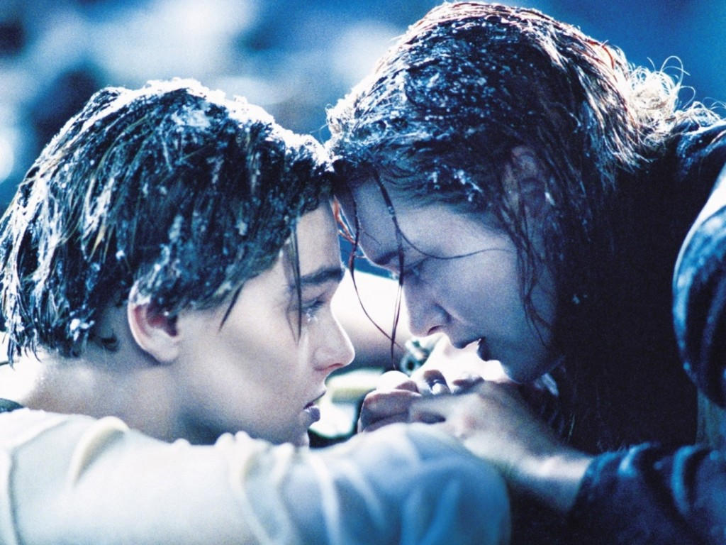 Here, we see two love birds who have just taken the ice water challenge.