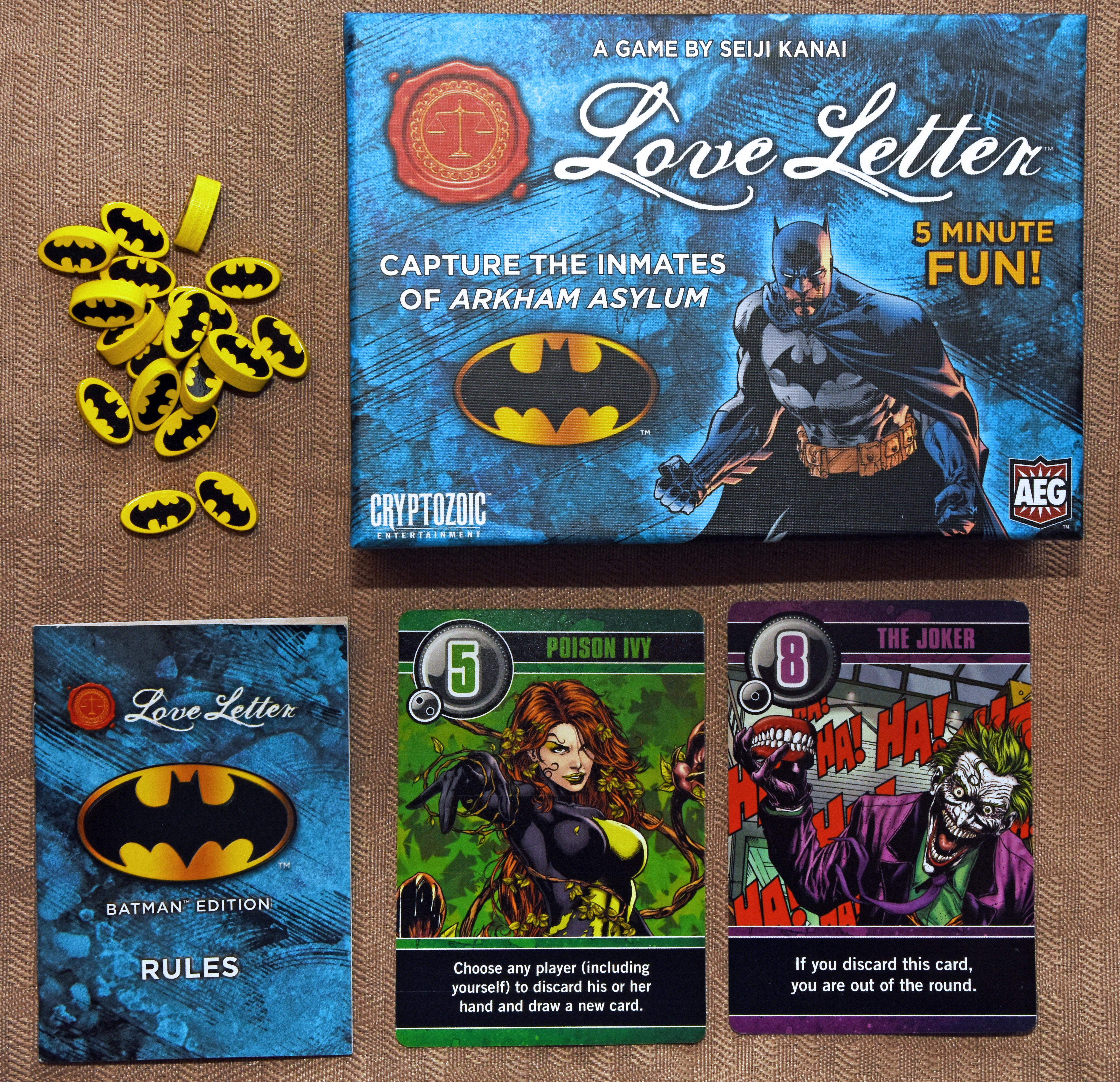 Love Letter: Batman | Dad's Gaming Addiction