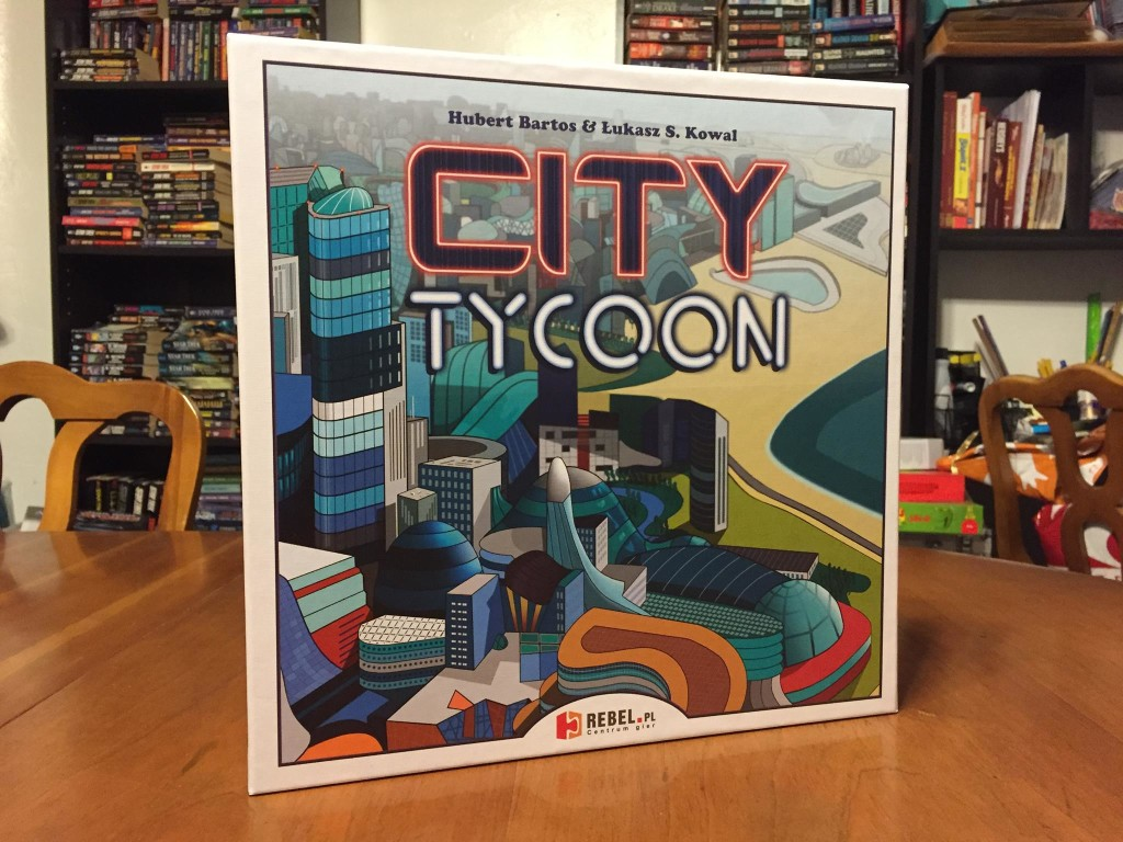 City Tycoon: 2-5 Players, Ages 10+, Average Play Time = 75 Minutes