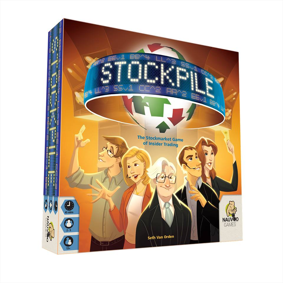 Stockpile: 2-5 Players, Ages 13+, Average Play Time = 45 Minutes
