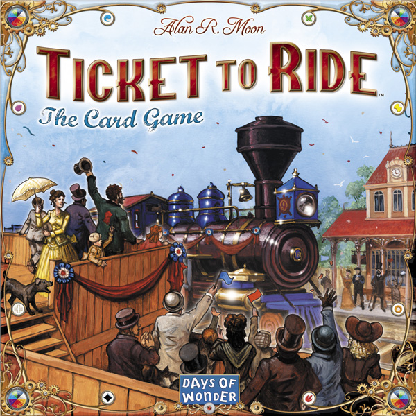 Ticket to Ride: The Card Game - 2-4 Players, Ages 8+, Average Play Time = 30 Minutes