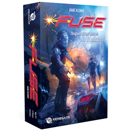 Fuse: 1-5 Players, Ages 13, Average Playing Time = 10 Minutes