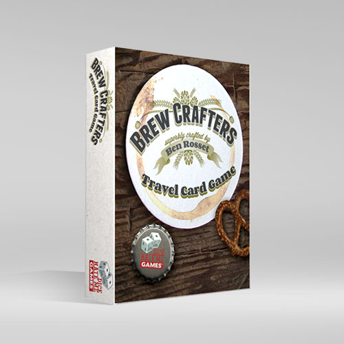 Brew Crafters: The Travel Card Game - 2-4 Players, Ages 13+, Average Play Time = 30 Minutes