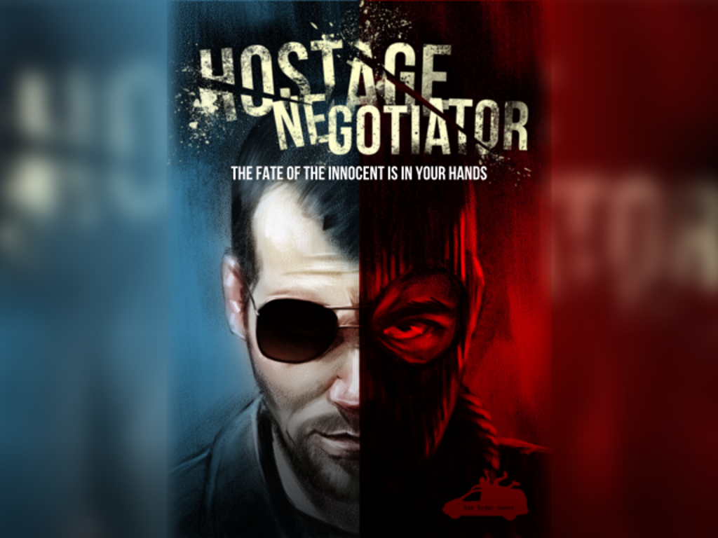 Hostage Negotiator: 1 Player, Ages 15+, Average Play Time = 15-30 Minutes