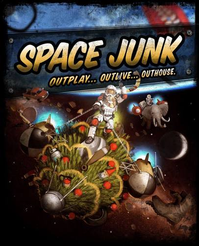 Space Junk: 2-6 Players, Ages 8+, Average Play Time = 30-60 Minutes