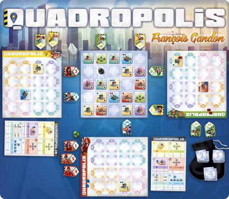 Quadropolis-setup