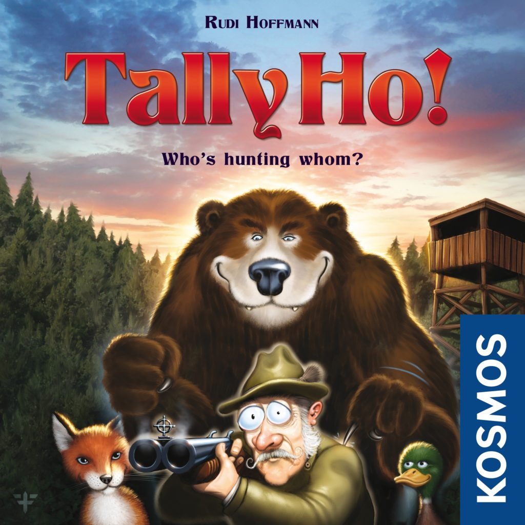Tally Ho!: 2 Players, Ages 8+, Average Play Time = 20 Minutes
